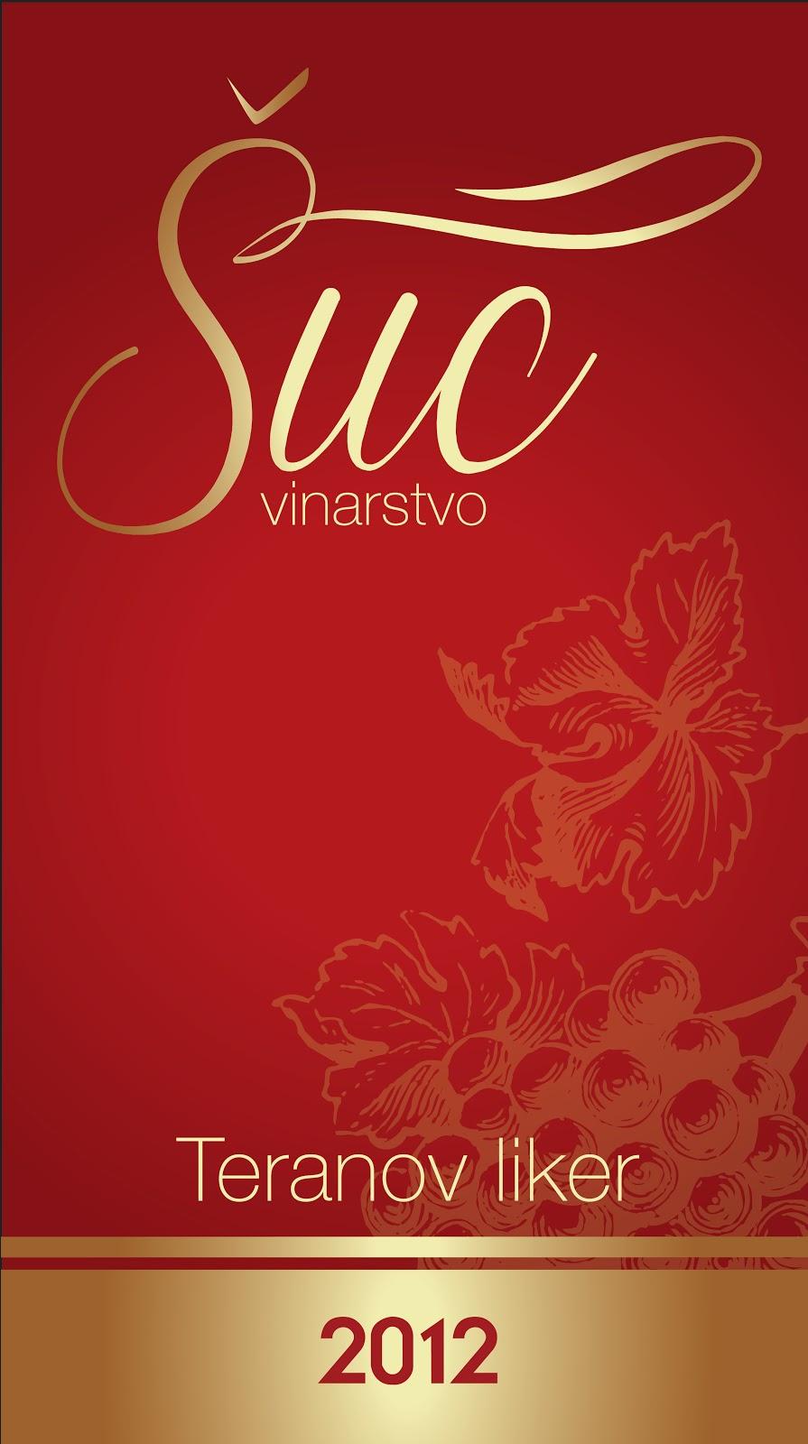 Wine label for Šuc winery