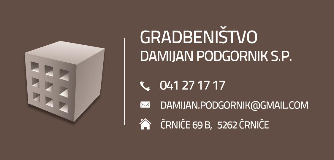 Business card for Damijan Podgornik
